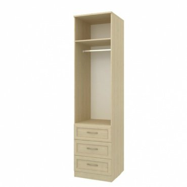 Шкаф с 3-мя ящиками София (Cilegio Nostrano/Granite Rose) (СТЛ.098.02)