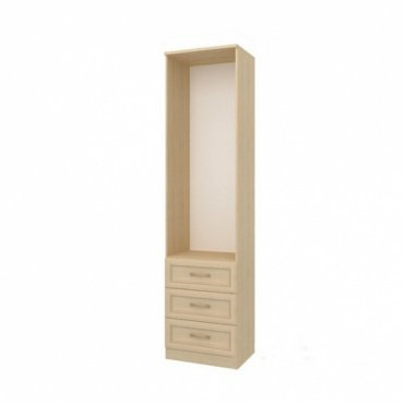 Шкаф с 3-мя ящиками София (Cilegio Nostrano/Granite Rose) (СТЛ.098.04)